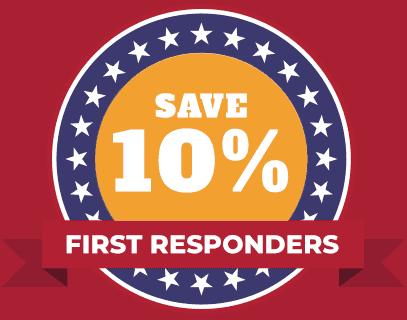 first responder savings HVAC 10%