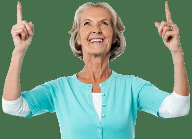 hvac senior savings woman
