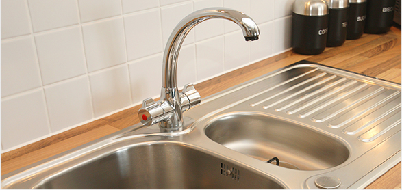kitchen drain cleaning plumbing service